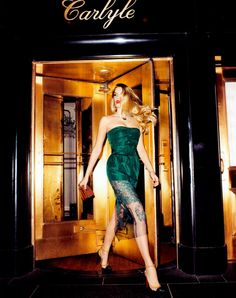 Lily Donaldson by Terry Richardson for Harper's Bazaar US December 2012