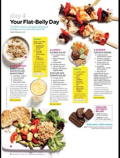 Your flat belly day, day 4 healthy diet recipes, healthy tips, healthy snacks Healthy Diet Recipes, Healthy Tips, Healthy Choices, Healthy Snacks, Healthy Detox, Easy Recipes, Tasty Meals, Healthy Recipes For Weight Loss, Amazing Recipes