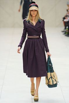 #BurberryProrsum #Spring2012RTW For some reason, I love this collection.....even though it's kinda wonky. Go figure.