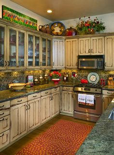 www.interiordesigncolorado.net ~ rustic country kitchen