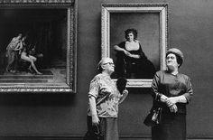 Le chambre Denon [sic]: El Louvre y sus visitantes