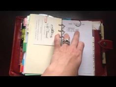 """(Smart idea) The Crazy Life of J: Keeping Organized: How I Use an A-Z """"Filing Cabinet"""" in My Filofax Malden"""