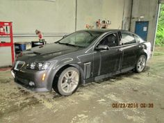 09 Pontiac G8  In for oil change and safety inspection.