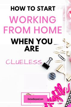 Do you want to work from home but don't know where to start or how to begin? Here is a simple guide that will show you how to work from home and make extra money full time or with kids. Perfect guide for stay at home moms Work From Home Business, Work From Home Tips, Stay At Home Mom, Starting A Business, Business Tips, Online Business, Make More Money, Make Money From Home, Extra Money