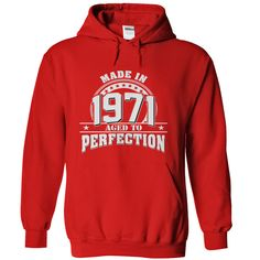 (Tshirt Cool T-Shirt) Made In 1971  Aged To Perfection  Shirts this week  Made In 1988  Aged To Perfection. Tees and Hoodies available in several colors  Tshirt Guys Lady Hodie  SHARE and Get Discount Today Order now before we SELL OUT Today  #tshirt #pinteres #Tshirtamerican #Tshirtjob #Tshirtnam