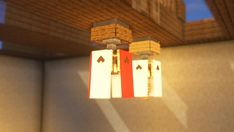 "2,896 gilla-markeringar, 11 kommentarer - SEVEN (@seven85654) på Instagram: ""Japanese lanterns…"" Art Minecraft, Minecraft Building Guide, Easy Minecraft Houses, Minecraft Plans, Minecraft Decorations, Minecraft House Designs, Minecraft Tutorial, Minecraft Blueprints, Minecraft Mansion"