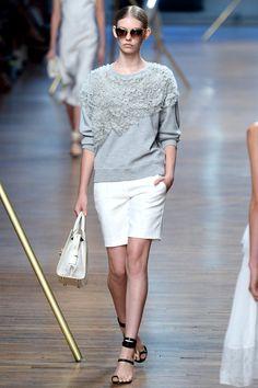 Jason Wu | Spring/Summer 2014 Ready-to-Wear Collection via Designer Jason Wu | Modeled by Ondria Hardin | September 6, 2013; New York