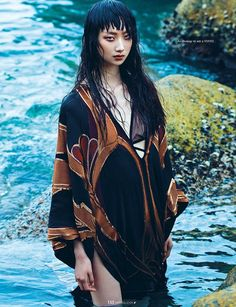 Yue Ning by Jumbo Tsui for Elle Vietnam August 2014