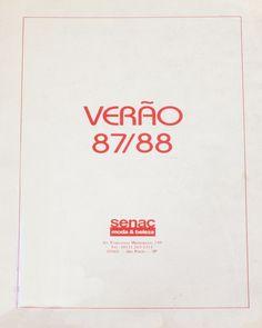 Senac Moda Informação - Verão 1987/1988