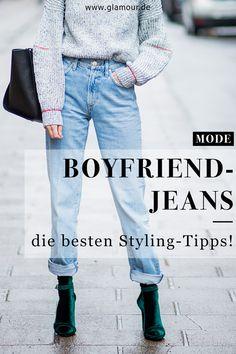 Bequem, lässig, locker  Boyfriend-Jeans gehören zu den Klassikern im  Kleiderschrank und 8ac01d7f37