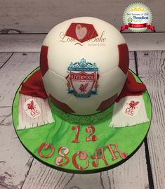 Liverpool Football Cake by Love2bake - April 2018