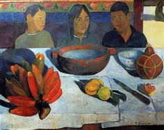 by Paul Gauguin in oil on canvas, done in . Find a fine art print of this Paul Gauguin painting. Paul Gauguin, Henri Matisse, Henri Rousseau, Oil On Canvas, Canvas Art, Canvas Prints, Art Prints, Large Canvas, Tahiti