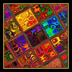 Squares of Colors by heyday93.deviantart.com