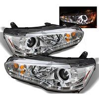 Cheap CPW (tm) 2008-2012 MITSUBISHI LANCER EVO X STYLE PROJECTOR CLEAR CHROME…