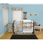 Found it at Wayfair - Bubbles Teal Crib Bedding Collection
