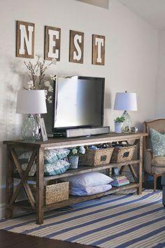 Beautiful Farmhouse Living Room Design