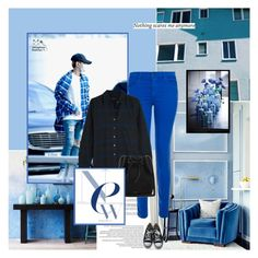 """""""Sin título #189"""" by yuleici ❤ liked on Polyvore featuring WALL, J Brand, Andrea Pramuk, Equipment, Converse and Mansur Gavriel"""