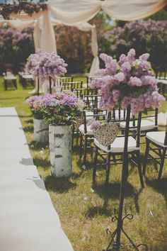 Read more - http://www.stylemepretty.com/2013/09/13/lilac-inspired-romance-from-divine-weddings-sugar-and-soul-photography/