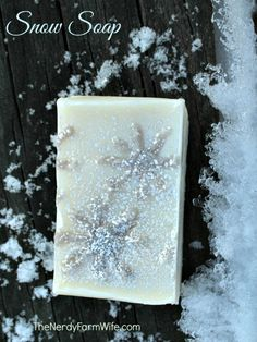 How to Make Homemade Snow Soap