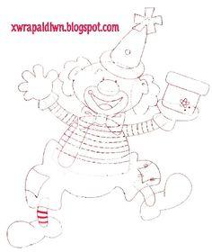 Οι ιδέες και οι δημιουργίες μας!!!: Μερικές ακόμα υπέροχες ιδέες Clowns, Carnival Crafts, Circus Clown, 3d Cards, Tole Painting, Fathers Day, Smurfs, Kindergarten, Crafts For Kids