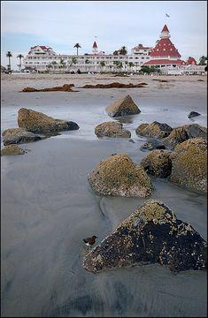 Hotel del Coronado, Coronado, CA  On Coranado Island. Going over the Coronado Bridge from San Diego is breathtaking!