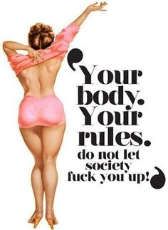I like this! Nobody is perfect and every 'body' is different.