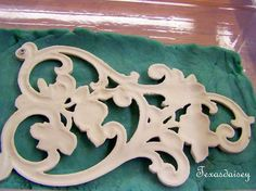Vintage Furniture Texasdaisey Creations: How To Make Appliques For Furniture 2 - Learn how to make your own furniture appliques part 2 Furniture Repair, Furniture Projects, Furniture Makeover, Automotive Furniture, Furniture Handles, Automotive Decor, Furniture Websites, Furniture Movers, Furniture Refinishing
