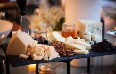 11 Awesome Wedding Ideas for Foodies  Let your guests indulge in various gourmet cheeses! Chances are, they'll be very thankful for your food expertise.