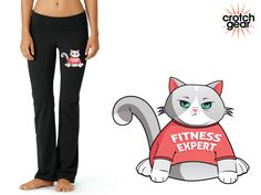 Brenda Paws - Fitness Expert (Yoga Pants)