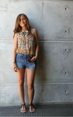 Look Casual llevando #sandalias planas by #MARYPAZ Shop at ► http://www.marypaz.com/tienda-online/sandalia-plana-en-t-22128.html?sku=68105-42