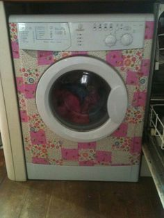I want to decopatch my washing machine!