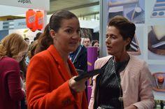 Samantha #Vallejonajera del programa de #television #masterchef, con uno de nuestros #platosdepizarra #pedraza #catering @platosdepizarra.com www.platosypizarras.com #res