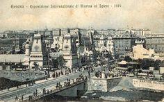 GENOVA - Esposizione Internaz. di Marina ed Igiene 1914 - FOTO STORICHE CARTOLINE ANTICHE E RICORDI DELLA LIGURIA