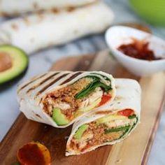 Tex-Mex Chicken and Quinoa Wraps