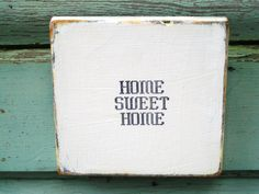 Home Sweet Home Wall Art Home Sign Wood Wall Decor Reclaimed Wood Art Wood Wall Art Home Sweet Home Sign Reclaimed Wood Sign by BlackCrowCurios on Etsy