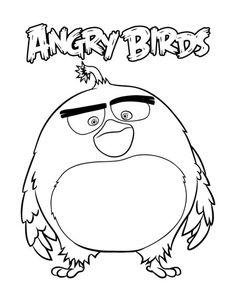 #angrybirds #kolorowanki #kolorowanka #obrazki #dzieci #malowanki Angry Birds Mighty Eagle, Angry Birds New, Red Angry Bird, Bird Coloring Pages, Online Coloring Pages, Bird Attack, Red Sheets, Eagle Bird, Pink Bird