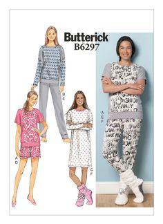 B6297 | Butterick Patterns 16-26