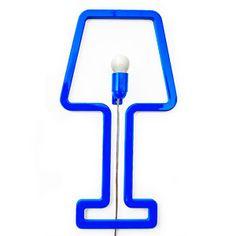 Lampada Coloredshape blue