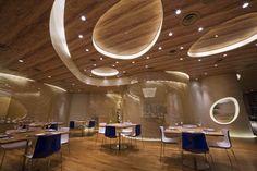 Ceiling design for restaurant
