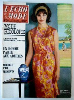 L'echo de la mode n°20 du 19/05/1963