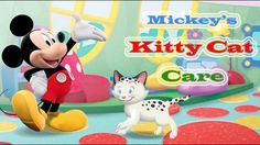 Mickey Mouse Clubhouse - Mickey's Kitty Care Fun House - Mickey Mouse Pet Playhouse Game
