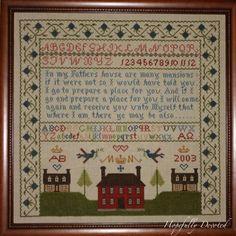 """Margaret & Margaret """"Many Mansions Sampler"""""""