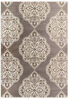 Art Carpet Arabella Brown / White Area Rug Rug