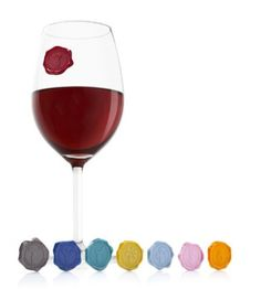 Vacu Vin 1886460 Glass Markers, Classic by Vacu Vin Inc.. $6.99. Glass markers by Vacuum Vin. Features 8 unique colors and characters. Suction cup back sticks to any smooth surface. Made to replicate the original wine seal. A fun way to enhance your party and cocktail hour. Made to look like an original wine seal, these classic wine markers suction to any smooth surface and are a perfect way to mark your wine glass. Every guest can have their own characters to match their...
