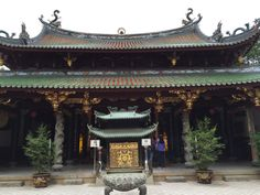 Pátio interno do Templo Thian Hock Keng