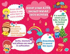 Ward off Those #WinterChills by covering up your little kids in warm clothing! Make sure they are not too stuffy and suffocating! #winteriscoming