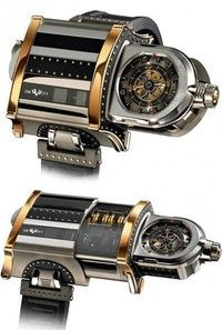 Ultimate in Steampunk Accessories: The DeWitt 'WX-1' Telescoping Wristwatch