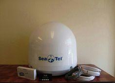 Sea Tel Coastal 24 Satellite TV at Sea - Direct TV US - Complete Kit #SeaTel