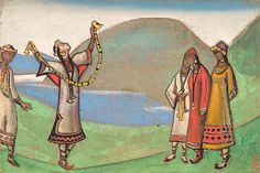 Catalogue paintings collection Nicholas Roerich Museum