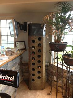 Basalt Wine Rack